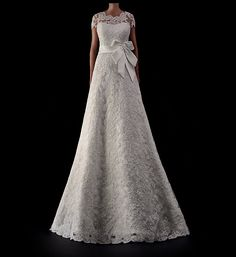 A Line wedding dress LV2013046 by IMPOORIA on Etsy, €550.00