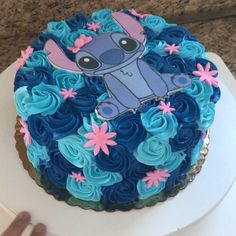 Stitch party - ideas for boy and girl parties with stitch, .- Stichparty – Ideen für Jungen- und Mädchenpartys mit Stitch, Stitch party – ideas for boy and girl parties with stitch, # Girls parties - Beautiful Cakes, Amazing Cakes, Lilo And Stitch Cake, Bolo Fondant, Indian Cake, Disney Birthday, 21st Birthday, Birthday Cakes, Birthday Ideas