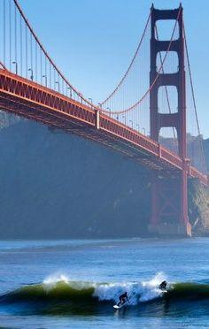 Golden Gate Bridge in San Francisco, CA