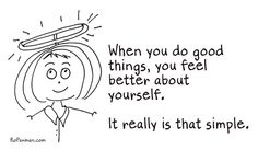 How to feel better about yourself.