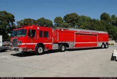 USAR Long Beach Fire Department Emergency Apparatus Fire Truck