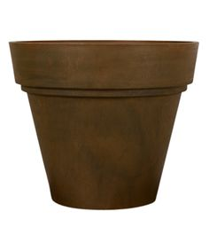 Brown Round Pot
