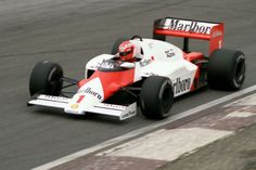 1985 McLaren MP4/2B -TAG Porsche (Niki Lauda)