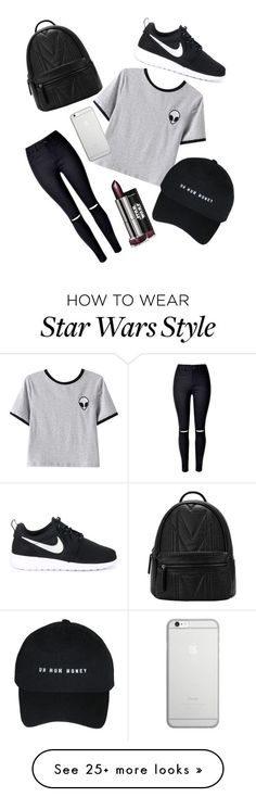 """Ultimate Tumblr"" by annrise on Polyvore featuring Chicnova Fashion, WithChic, NIKE and Native Union"