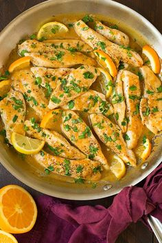Who doesn't love a quick and easy skillet chicken recipe? Skillet chicken has become a go to dinner option for me because we eat a lot of lean chicken