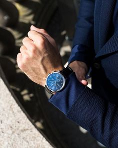 The IWC Portugieser with the blue dial will flatter any wrist. #IWCPortugieser . . . . . . . .  📸 @wongwannawat #📷 @iwcwatches #watchlover #watchaddict #watchnerd #watchoftheday #watch #seeyouatalberts #timepiece #luxury #horology #midwest #iwc #iwcwatches