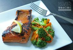 "When you want to eat organic, why not ""go fish?!"" Here's a new Bourbon Salmon recipe from our friends at Nature's Garden : http://blog.ga.naturesgardendelivered.com/?p=1115"