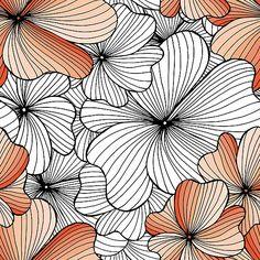 orange flowers pattern by Argunika redbubble.com/people/argunika   #Argunika #redbubble #redbubblecreate #RedbubbleArtist #surfacedesign #surface #dress #tshirt #leggings #zen #psychedelic #boho #bohemian #hippie #boholook #yoga #yogaclothing #yogapants #abstract #bag #zenlife #ornament #дизайнерпринтов #бохо #хиппи #принт