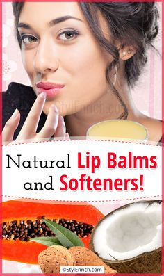 Welcome to Gabriel Atanbiyi Blog: Let's Know About Natural Lip Balms and Softeners…