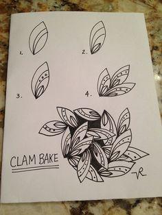 """Clam Bake"" by JustDoodlin aka Vickie R."