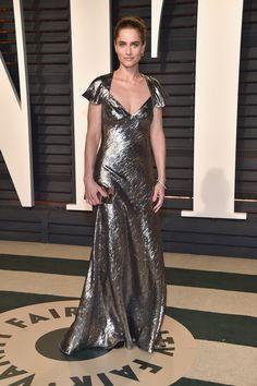 Amanda Peet at the Vanity Fair Oscars party