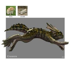 Random Creature Mashup Project #024 - Cronnie, Midhat Kapetanovic on ArtStation at https://www.artstation.com/artwork/13YA3?utm_campaign=digest&utm_medium=email&utm_source=email_digest_mailer