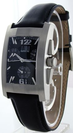 Alfred DunHill Men's Dunhillion Facet Chronograph