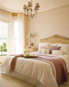 13 dormitorios románticos llenos de ideas · ElMueble.com · Dormitorios