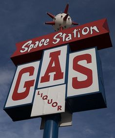 Space Station Gas & Liquor.........Steamboat Springs, Colorado