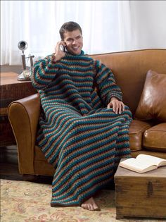 Snuggie Crochet Pattern