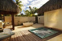 outdoor spa...