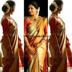 South Indian Bridal Silk Saree
