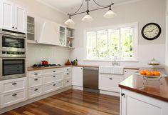 Multiple drawers  Contemporary Shaker Kitchen Shaker Kitchens Kitchen Design