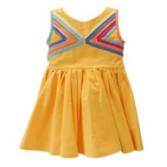 Cool triangle bodice feature by Helsinkids