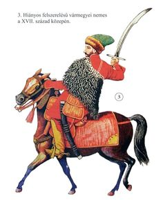 Transylvanian noble cavalryman, half of the 17th century