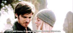 No! Colin O'Donoghue -Killian Jones - Captain Hook - Jennifer Morrison - Emma Swan on Once Upon A Time 5x20