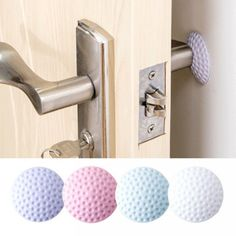 Cheap wall stick, Buy Directly from China Wall Thickening Mute Door Fenders Golf Styling Rubber Fender Handle Door Lock Protective Pad Protection Home Wall Sticker Door Knobs, Door Handles, Crash Mat, Porte Diy, Pc Table, Padded Wall, Ikea, Door Stickers, Bathroom Stickers