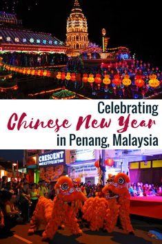 Are you travelling through Malaysia in the beginning of the year? Then you should visit the Chinese New Year events in Penang! Lots of cultural events will keep you busy and tell you about Chinese traditions. #chinesenewyear #penang #malaysia