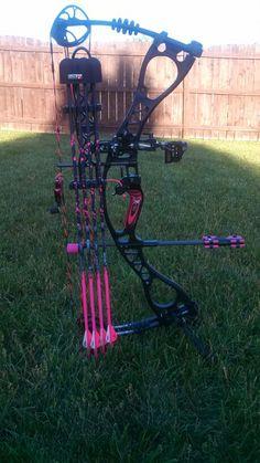 Hoyt Vicxen Charger, hunting set up
