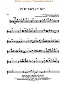 Les Miserables - Flute