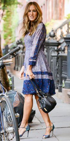 Imagini pentru sarah jessica parker street style 2016