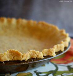 No-Roll Chickpea Flour Pie Crust {grain-free, gluten-free}   power hungry