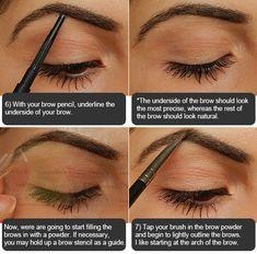 Eyebrow tutorial (very detailed)