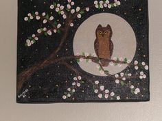 folk art owl Orginal