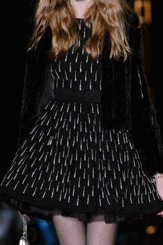 Saint Laurent at Paris Fashion Week Fall 2015 - StyleBistro