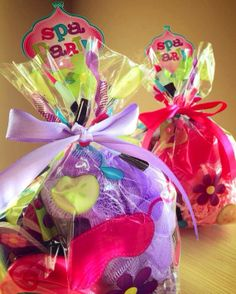 Spa favors by rizOHcollection on Etsy, $6.50