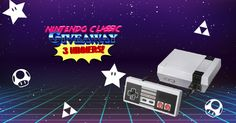 Our friends at, Freebie Moms, are giving away 3 Nintendo Classic's!  Sold out everywhere!  Selling for $250-$500 a piece!