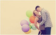 Engagement baloons