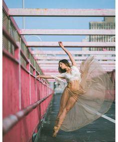 La danseuse étoile Kylie Shea dans les rues de New York