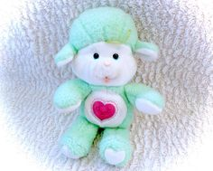 Care Bears Gentle Heart Lamb 1983 Plush Plushie by CuteVintageToys