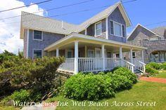 SAMAJ - Gorgeous Ocean View Cottage Home, Ink Well Beach Across Street, Walk to Town in Oak Bluffs