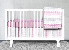 Olli & Lime Logan 3-Piece Crib Bedding Set #baby #crib #nursery
