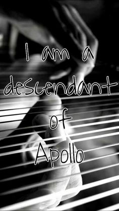 I took a quiz that said I'm a daughter of Demeter but I'm convinced I'm a daughter of Apollo
