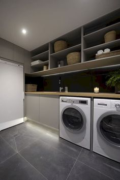 Adorable 90 Simple and Clean Modern Laundry Room that Fit into Contemporary Homes https://decoremodel.com/90-simple-clean-modern-laundry-room-fit-contemporary-homes/