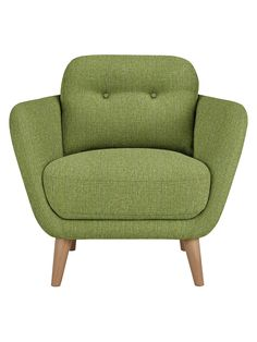 Buy House by John Lewis Arlo Armchair from our Armchairs range at John Lewis & Partners. Snug Room, Green Vans, Image House, Mid Century Design, Tub Chair, Home Buying, John Lewis, Love Seat, Accent Chairs