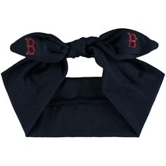 Boston Red Sox Women's Knotted Cotton Bow Headband