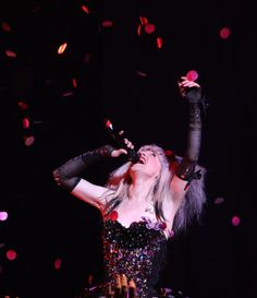 Lena Hall played her final performance in the Broadway revival of Hedwig and the Angry Inch on April 4.