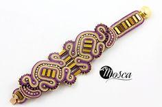 Halldora - soutache bracelet