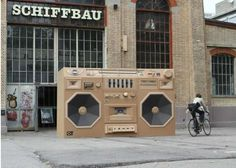 The 'Ghettoblaster' by Bartek Elsner is Old School and Fun #design #Creativity trendhunter.com