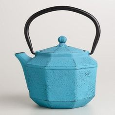 Out of a cast iron pot that won't break no matter how clumsy you feel pre-tea. | 22 Impossibly Cute Ways To Drink Your Tea